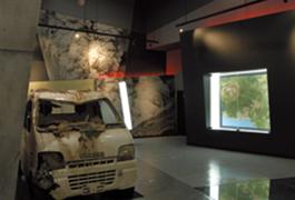 火山科学館では、これまでいくたびか噴火を繰り返してきた有珠山の火山活動を映像や解説、紹介